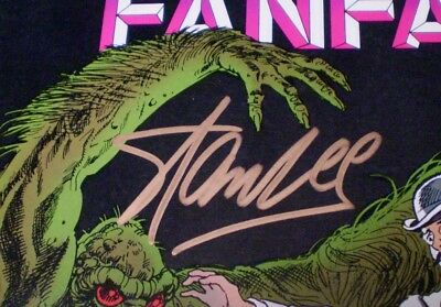 Marvel Fanfare #9 NM 9.4 Unrestored 1983 Man-Thing - Stan Lee signed