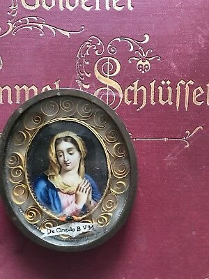 ex velo BVM (of the Holy Veil) relic of the Blessed Virgin Mary.