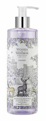 Woods of Windsor Lavender Moisturising Hand Wash 350ml bottle
