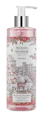 Woods of Windsor True Rose Moisturising Hand Wash 350ml bottle