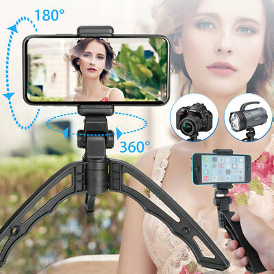 Handheld Stabilizer Phone Grip Mount Holder Stand Recorder For iPhone Canon Sony