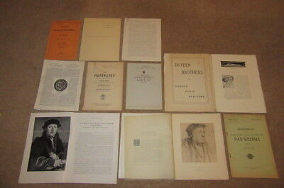 1911-1940s COLLECTION OF 23 ARTICLES ABOUT HANS HOLBEIN THE YOUNGER ART GERMAN *