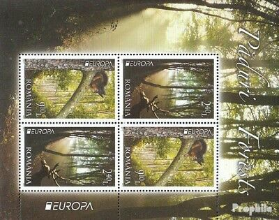 Romania block500 (complete.issue.) unmounted mint / never hinged 2011 the Forest