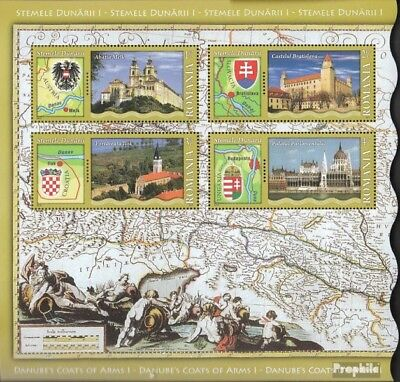 Romania Block468I (complete.issue.) unmounted mint / never hinged 2010 Donauanra