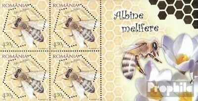Romania Block462 (complete.issue.) unmounted mint / never hinged 2010 Honigbiene
