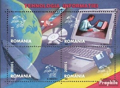 Romania block336 (complete.issue.) unmounted mint / never hinged 2004 informatio