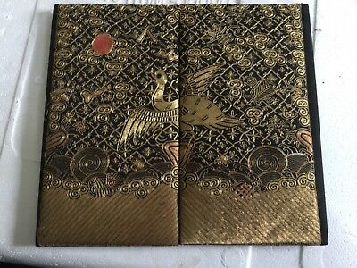 Antique Chinese beautiful silk court robe panel in very good condition