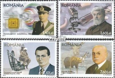 Romania 6574-6577 (complete.issue.) unmounted mint / never hinged 2011 Romanian