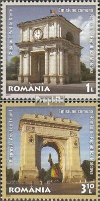 Romania 6562-6563 (complete.issue.) unmounted mint / never hinged 2011 Relations