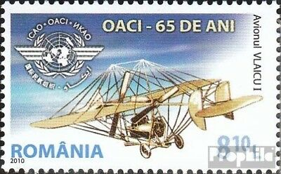 Romania 6424 (complete.issue.) unmounted mint / never hinged 2010 65 years ICAO