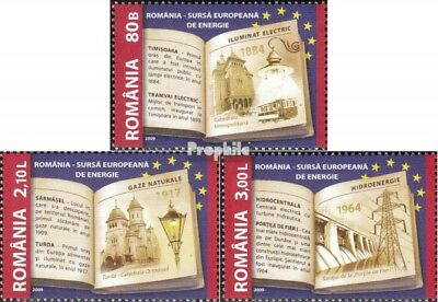 Romania 6362-6364 (complete.issue.) unmounted mint / never hinged 2009 Energiepr