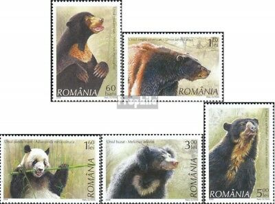 Romania 6284-6288 (complete.issue.) unmounted mint / never hinged 2008 Bears