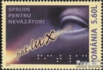 Romania 6251 (complete.issue.) unmounted mint / never hinged 2007 help the blind