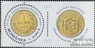 Romania 6240 with zierfeld (complete.issue.) unmounted mint / never hinged 2007