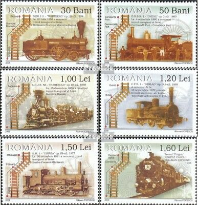 Romania 6111-6116 (complete.issue.) unmounted mint / never hinged 2006 Dampoflok