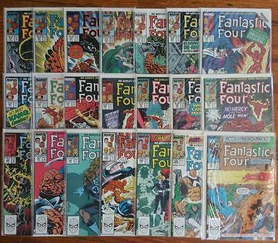 Fantastic Four #294-322: Buscema ! NM condition, missing #296 !