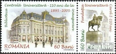 Romania 5999-6000 Couple (complete.issue.) unmounted mint / never hinged 2005 un
