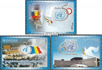 Romania 5993-5995 (complete.issue.) unmounted mint / never hinged 2005 Day the U