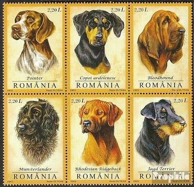 Romania 5982-5987 Six block (complete.issue.) unmounted mint / never hinged 2005