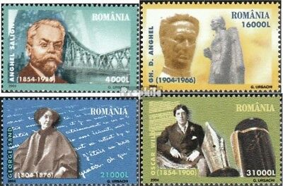 Romania 5830-5833 (complete.issue.) unmounted mint / never hinged 2004 Anniversa