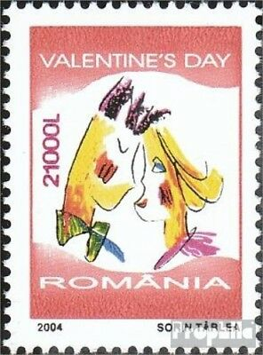 Romania 5795 (complete.issue.) unmounted mint / never hinged 2004 Valentine and