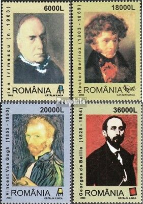 Romania 5712-5715 (complete.issue.) unmounted mint / never hinged 2003 Birthdays