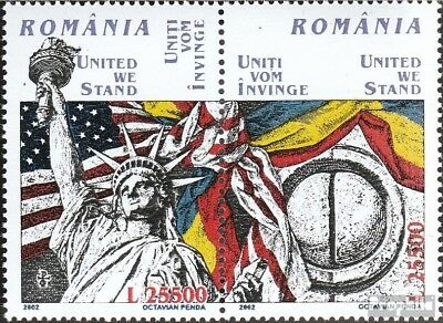 Romania 5647-5648 Couple (complete.issue.) unmounted mint / never hinged 2002 11