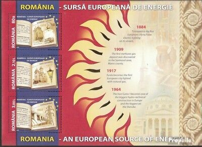 Romania Block446 (complete.issue.) unmounted mint / never hinged 2009 Energiepro