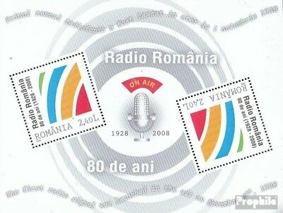 Romania block439 (complete.issue.) unmounted mint / never hinged 2008 80Jahre Ra