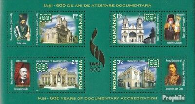 Romania Block434 (complete.issue.) unmounted mint / never hinged 2008 600 years