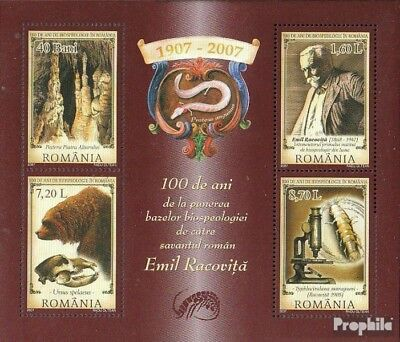Romania block392 (complete.issue.) unmounted mint / never hinged 2007 100Jahre B