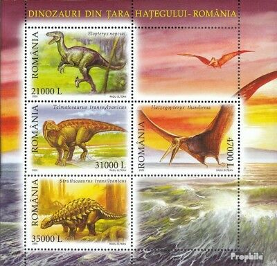 Romania block350 (complete.issue.) unmounted mint / never hinged 2005 Prehistori