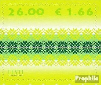 Estonia 668 (complete.issue.) unmounted mint / never hinged 2010 Strickmuster