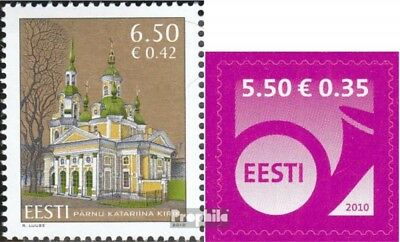Estonia 659,660 (complete.issue.) unmounted mint / never hinged 2010 Pärnu, Horn