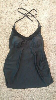 Liz Lange Swim Top Maternity Medium