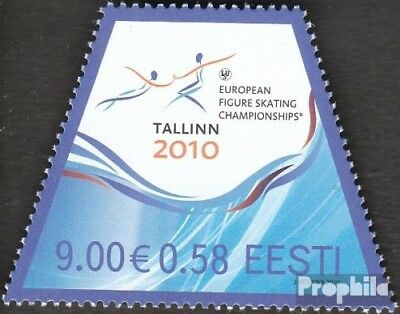 Estonia 653 (complete.issue.) unmounted mint / never hinged 2010 Figure Skating