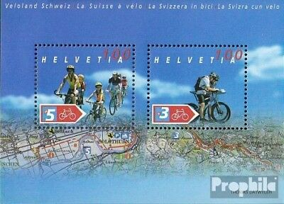Switzerland Block35 (complete.issue.) unmounted mint / never hinged 2004 Fahrrad