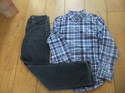 Boys Ralph Lauren Shirt Jeans Outfit Age 14-16 Years