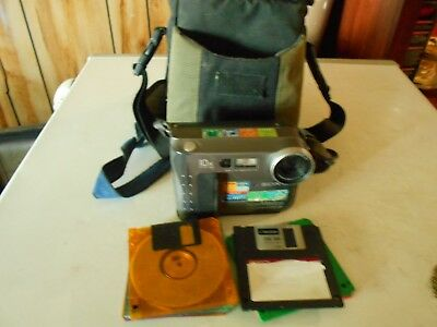 Sony Mavica 10X With Bag With 11 Disc's, Strap & Lens Cover.