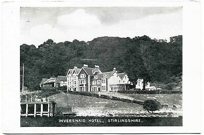 Early Postcard . Inversnaid Hotel . Stirlingshire . Scotland