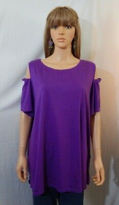 33d26d1b239 Women s NWOT Woman Within Size 22 24 1X Top Shirt Blouse Casual Work Clothes