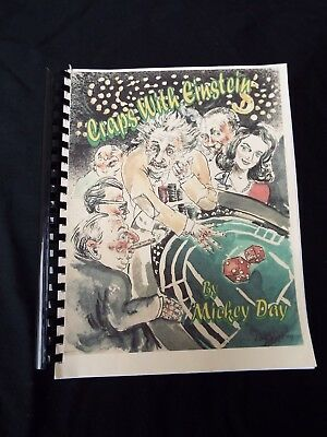CRAPS WITH EINSTEIN by MICKEY DAY Casino Gambling Strategy Guide Dice 2001 RARE
