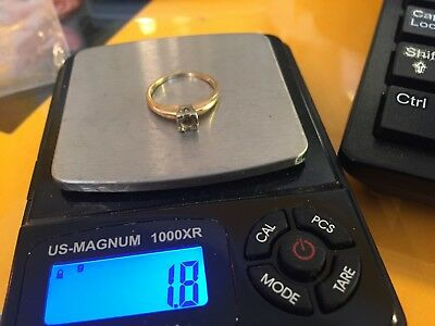 VintageScrap 14k and 10k Yellow Gold Rings 1.8 and 1.1 Grams