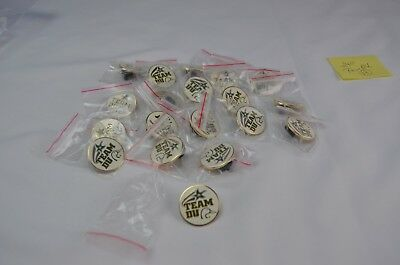 2012 Wisconsin Ducks Unlimited Team Pin Lot of 19 sealed in original bags.