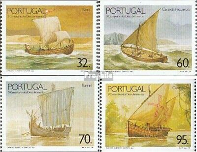 Portugal 1834C-1837C (complete.issue.) unmounted mint / never hinged 1990 Vessel