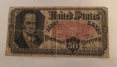 US Fractional Currency Series Of 1875  Fifty Cents
