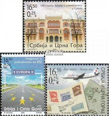 Yugoslavia 3248,3292,3295 (complete.issue.) unmounted mint / never hinged 2005 U