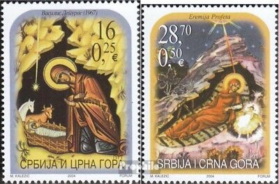 Yugoslavia 3229-3230 (complete.issue.) unmounted mint / never hinged 2004 christ