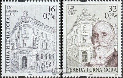 Yugoslavia 3219-3220 (complete.issue.) unmounted mint / never hinged 2004 Nation