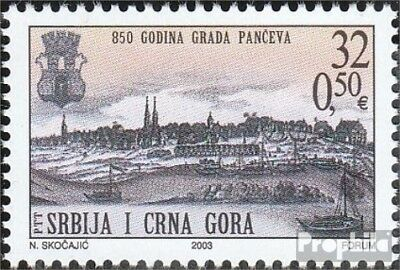 Yugoslavia 3155 (complete.issue.) unmounted mint / never hinged 2003 850Jahre Ci